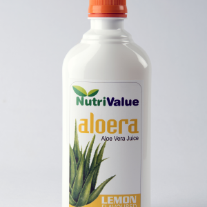 Nutrivalue Aloera - Aloevera Juice with Lemon Flavour , 500ml