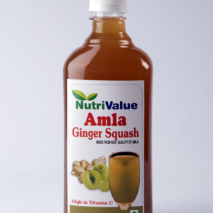 Nutrivalue Amla Ginger Squash, 500ml