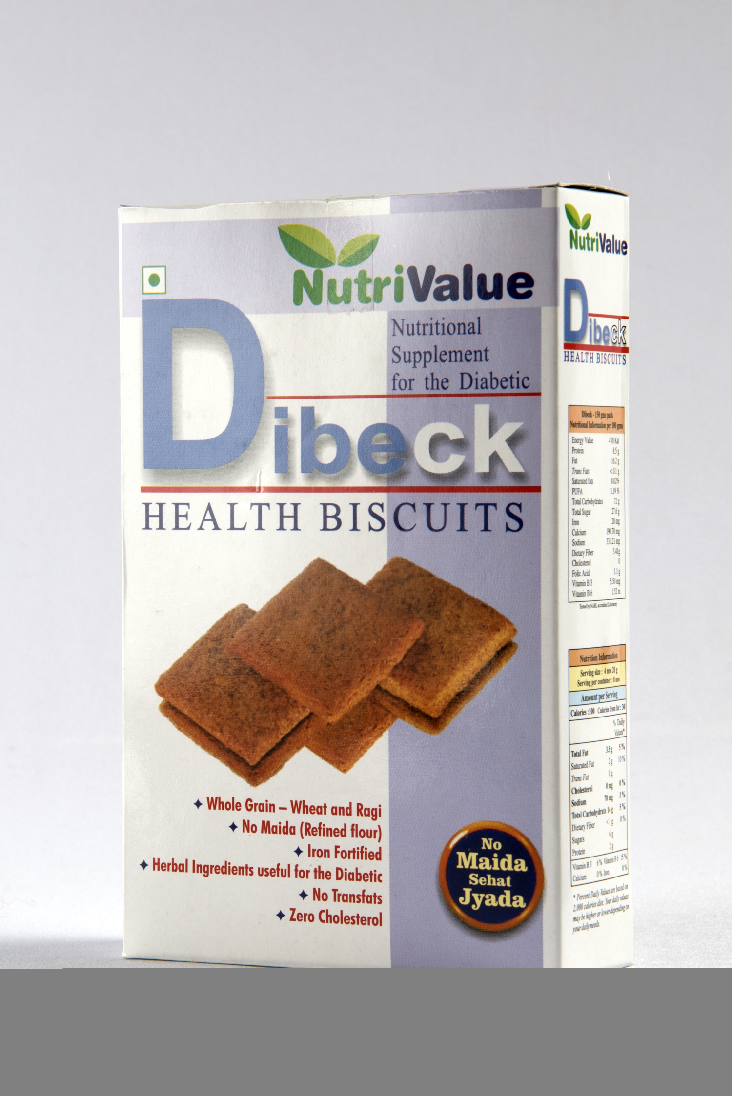Nutrivalue Dibeck Health Biscuits For Diabetic