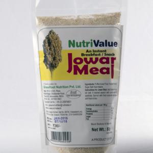 Nutrivalue Jowar Meal- An instant Breakfast / Snack, 80gm