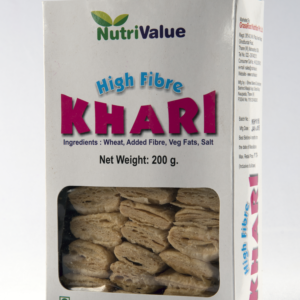 Nutrivalue High Fibre Khari, 200gm