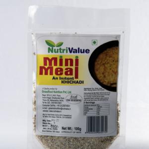 Nutrivalue Mini Meal- An instant Khichadi,100g