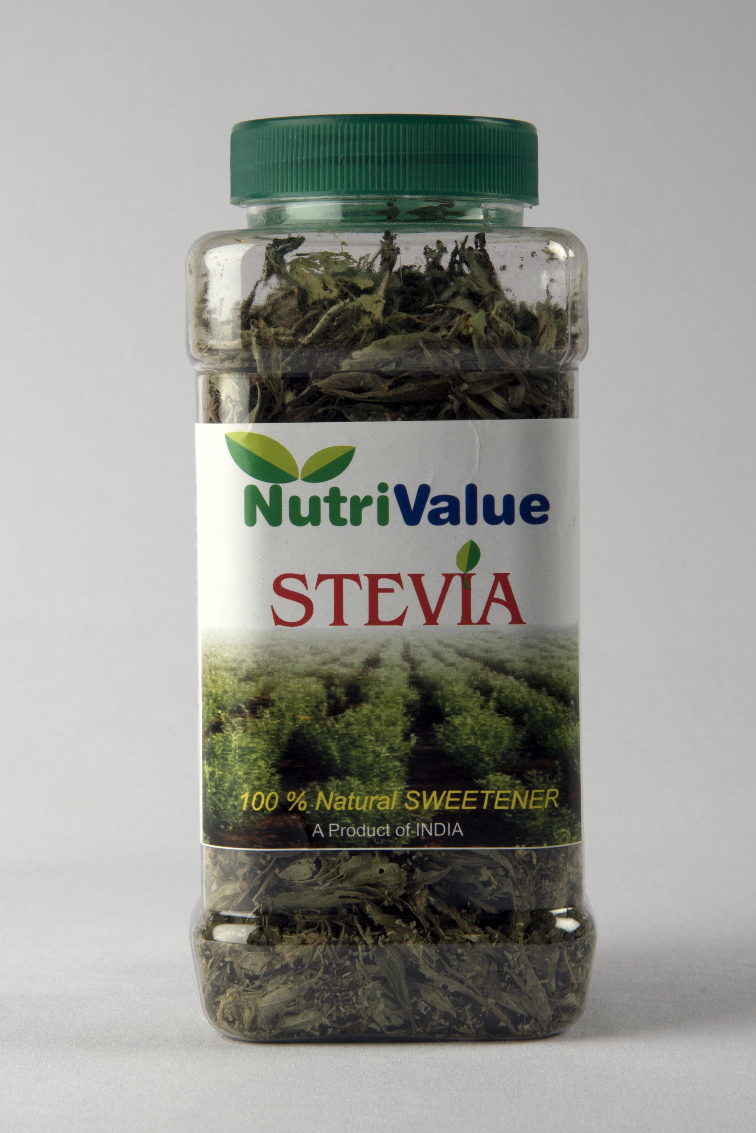 Nutrivalue Stevia Dry (Raw) leaves 100 % natural sweetner,50gm