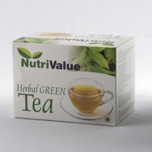 Nutrivalue 20 Tea Bags of Herbal Green Tea